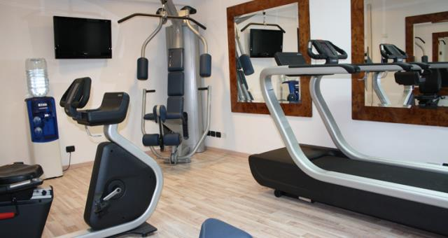 Facilities of the hotel's Fitness Room Rivoli 4-star Rome
