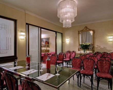 A hall meetings, conferences at the Best Western Hotel Rivoli 4-star Rome