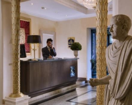 Looking for service and hospitality for your stay in Rome? Then Best Western Hotel Rivoli is the hotel for you
